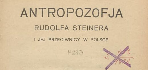 """""""Antropozofia Rudolfa Steinera i jej przeciwnicy w Polsce"""" (1925)"""